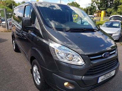 Picture of FORD TRANSIT CUSTOM LTD 2014